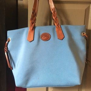 Dooney and Bourke blue tote